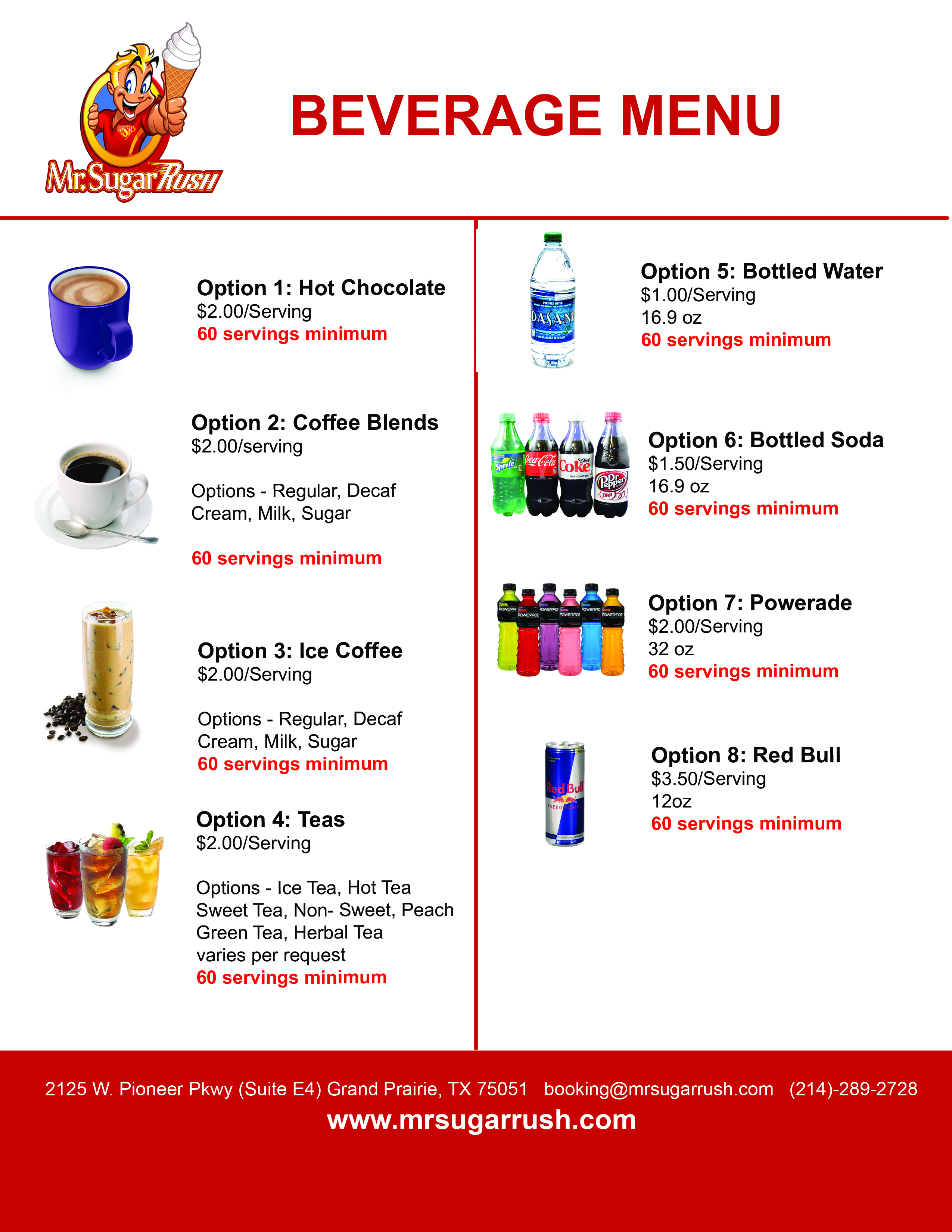 BEVERAGE MENU web
