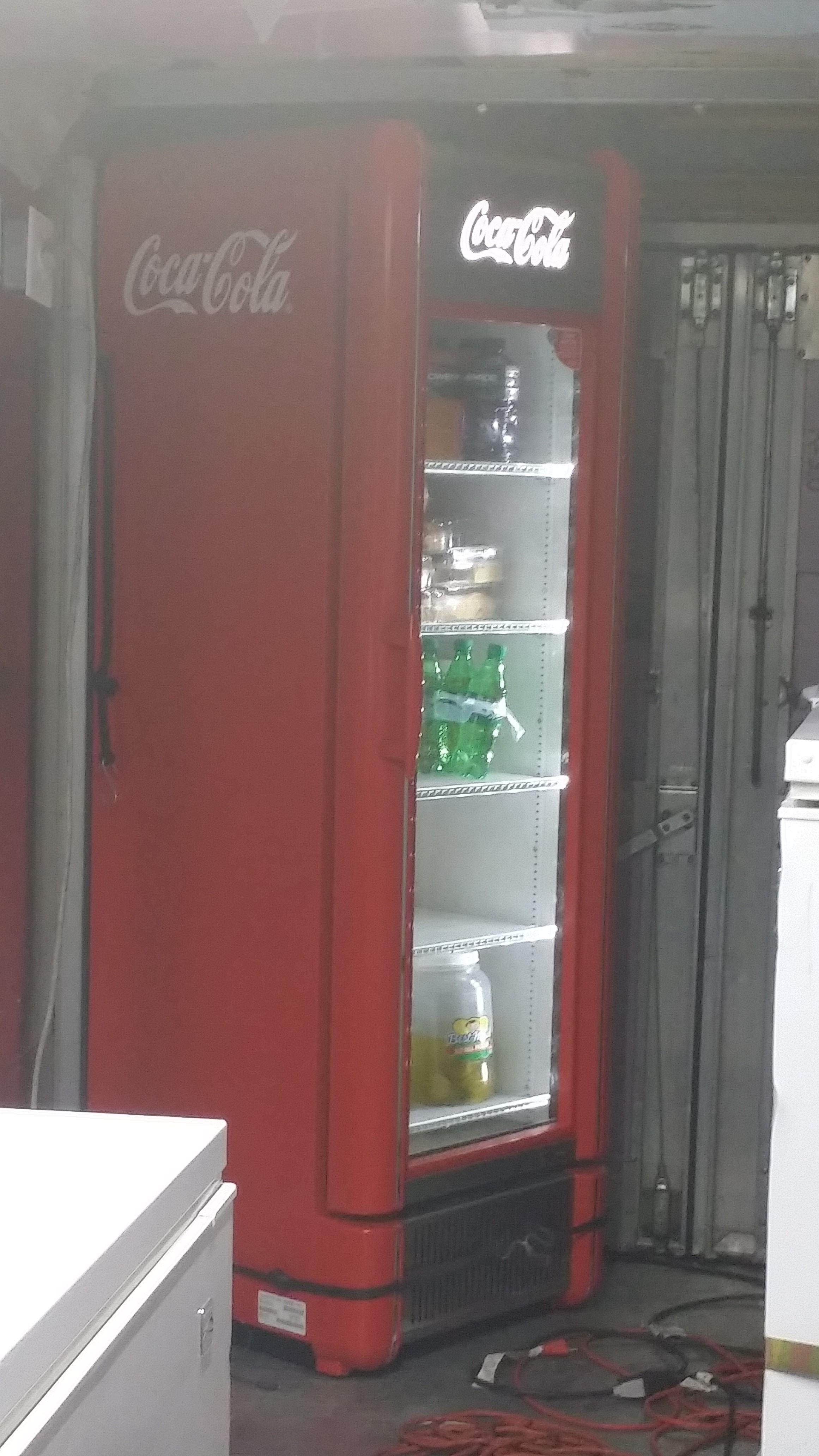 Dallas food truck mr.sugar rush sponsored by coca-cola
