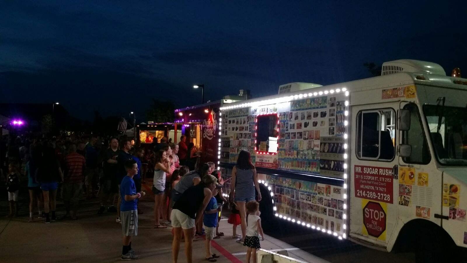 Current rent dallas ice cream truck