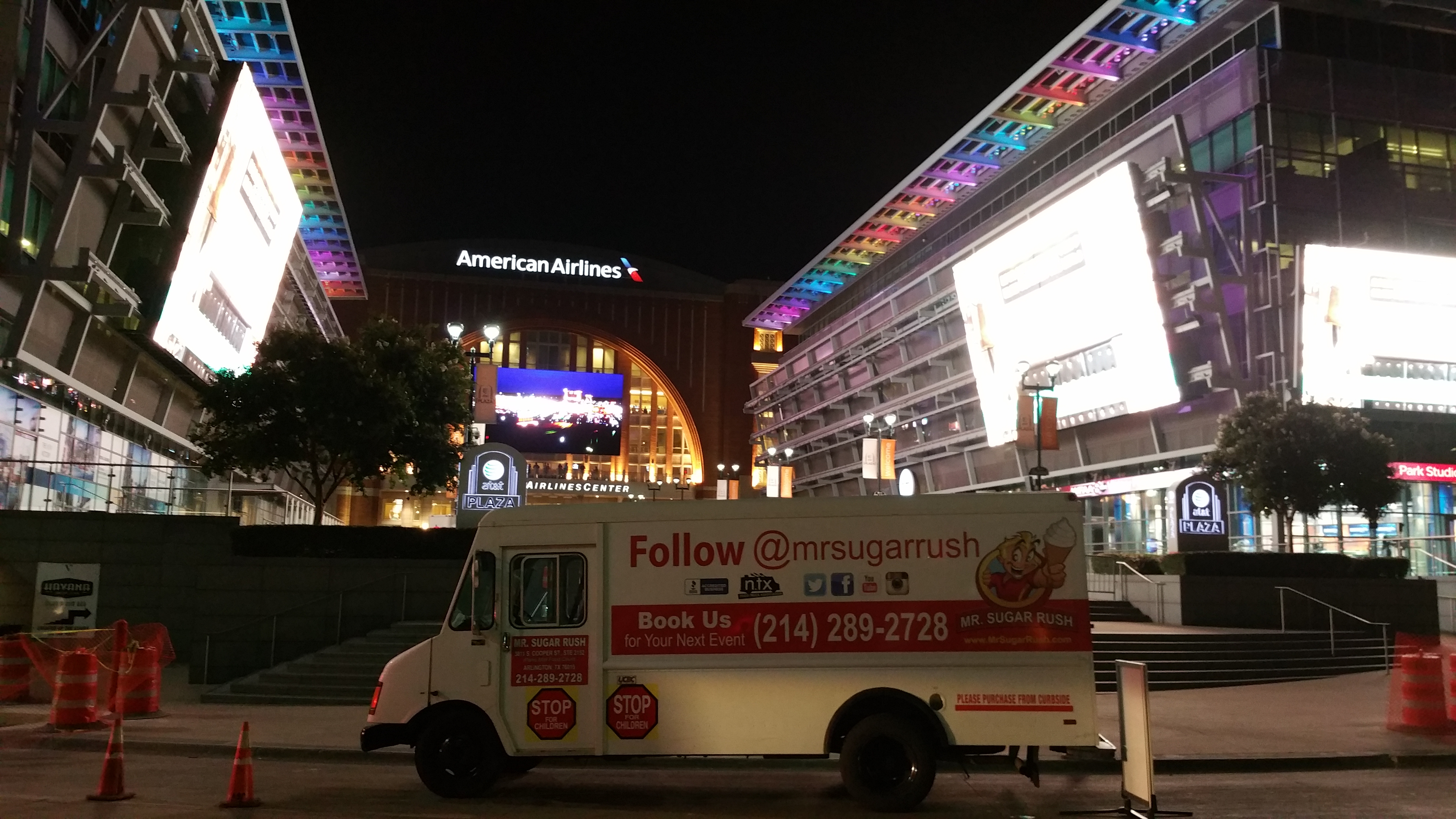 Msr at american airlines center garth brooks series
