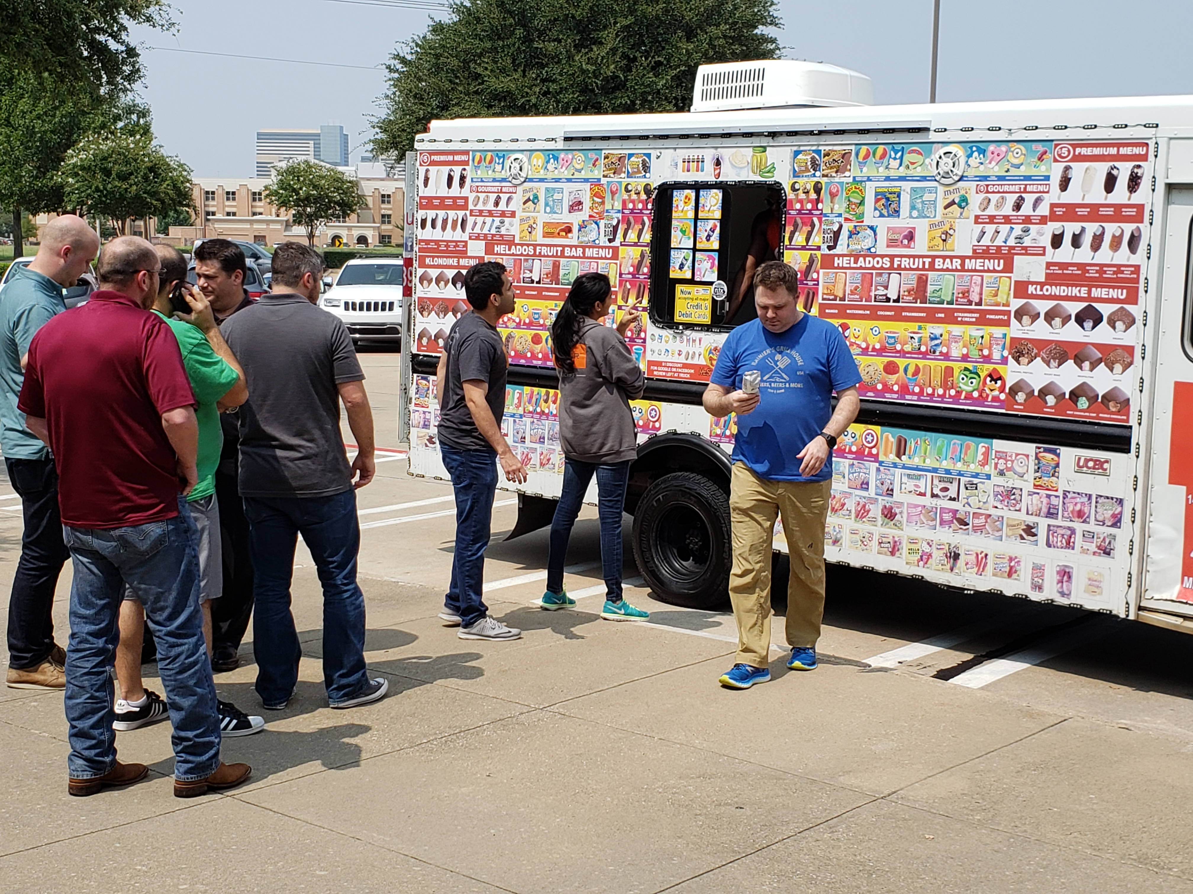 dfw Ice Cream Vendor