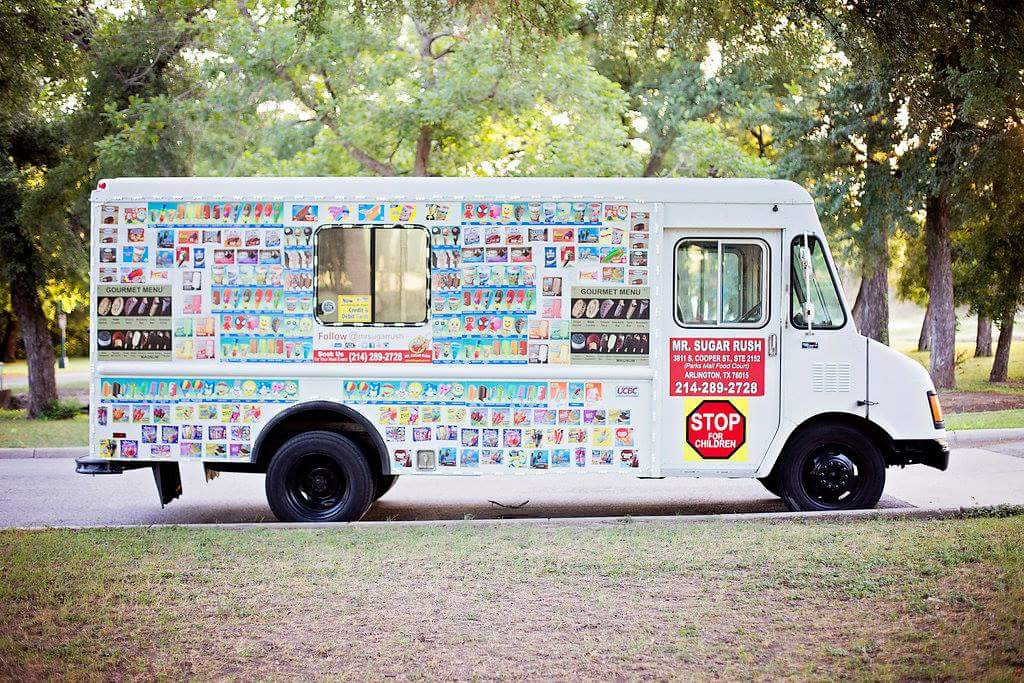 Fort Worth Ice Cream Food Truck